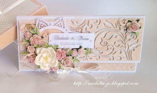 kopertówka, kartka na ślub, wedding card