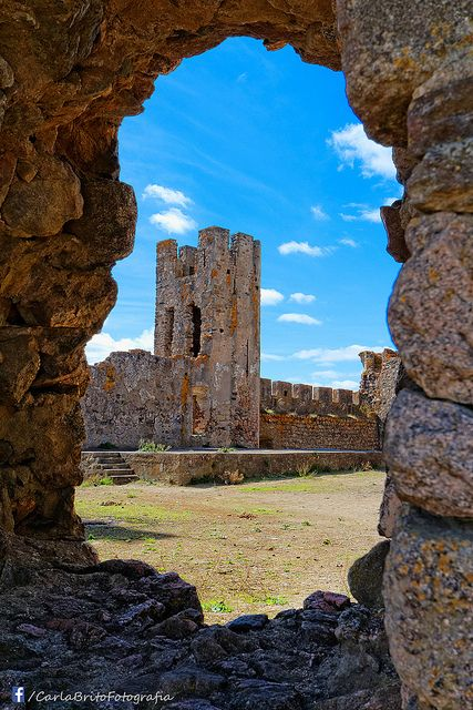 Castelo de Arraiolos. Arraiolos, Alentejo, Portugal.