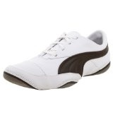 PUMA Men's Usan Running Shoe,White/Chocolate,11 M US (Apparel)By PUMA