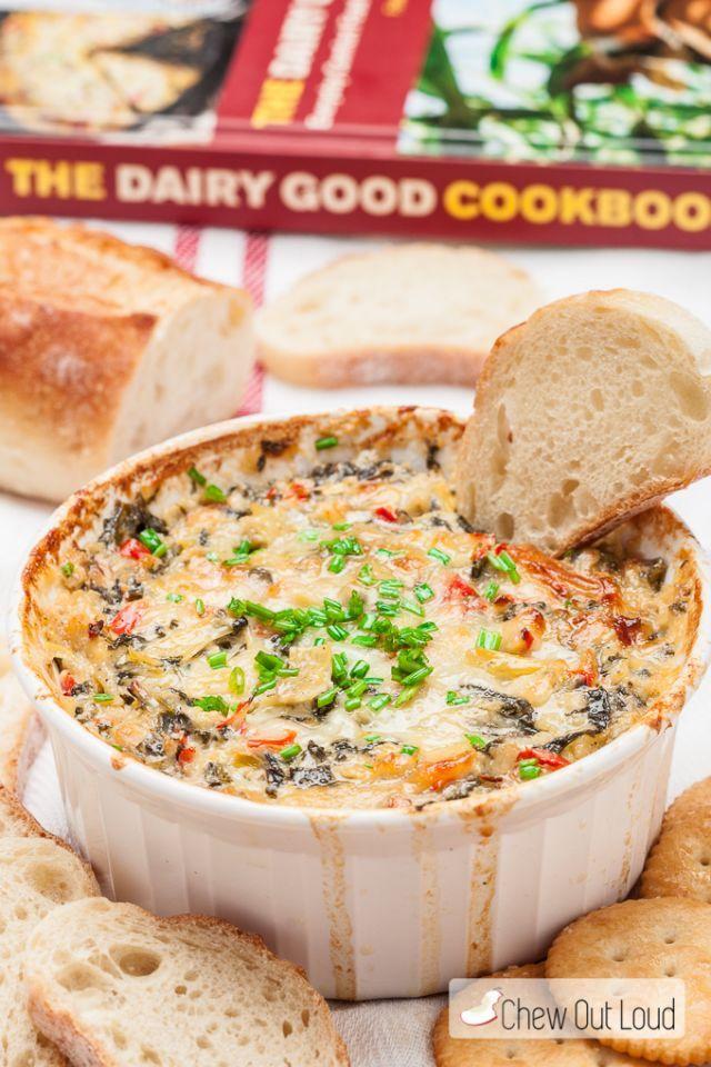 パンにぴったり「ほうれん草とアーティチョークのヨーグルトディップ」のレシピ - macaroni