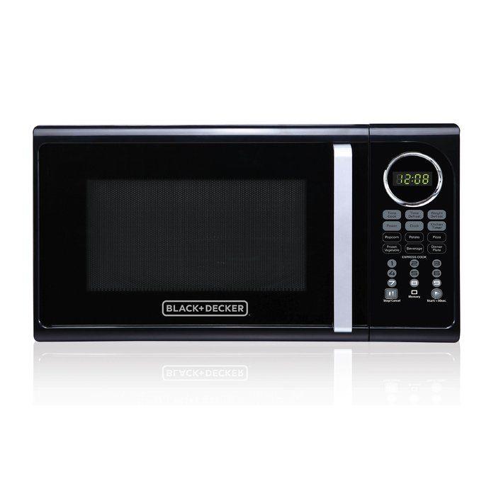 Pull Handle 19 0 9 Cu Ft Countertop Microwave In 2020 Digital
