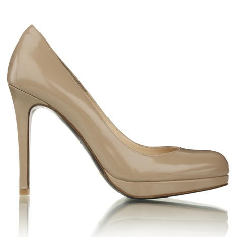 Found an exact look-alike from BCBG (BCBGeneration Tinas-Dalvin Platform, sz 7) that I got instead. Can't tell the difference and I LOVE them!!! They go with everything AND they are incredibly comfortable! Definitely my favorite pair of spendy shoes!: Nude Pumps, Duchess Pumps, Nude Shoes, Bennett Nude, Classic Nude, Nude Heels
