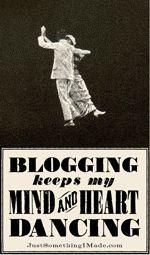 blogging makes me happy