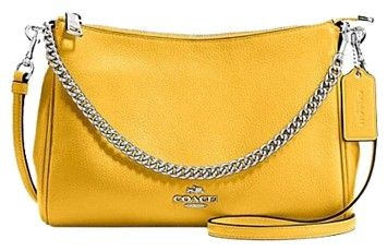 Coach F36666 Carrie Canary Cross Body Bag on Sale, 47% Off   Cross Body Bags on Sale at Tradesy