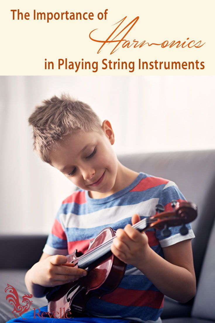 Learn the basics of harmonics and why they are important when playing a string instrument. https://www.connollymusic.com/stringovation/importance-of-harmonics-in-playing-string-instruments @revellestrings