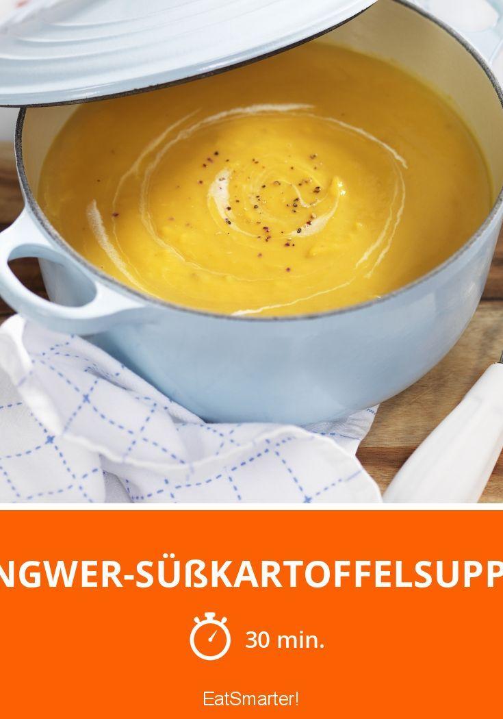 Ingwer-Süßkartoffelsuppe - smarter - Zeit: 30 Min.   eatsmarter.de