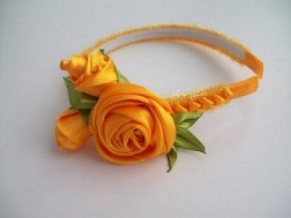 Diademas hechas a manoDiademas Hechas, Crafts Ideas, Flower Tutorials, Fabrics Flower, Ribbons Crafts, Satin Ribbons, Liveinternet Российский, Hair Accessories, Атласных Лент