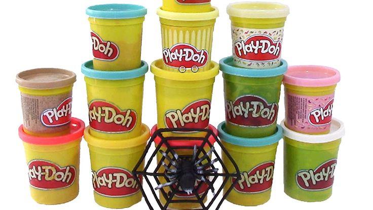 Play Doh Oyun Hamuru Kutularında Sürpriz Oyuncak Böcekler