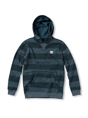41% OFF DC Boy's Reb Stripe Pullover Hoodie (Predator)