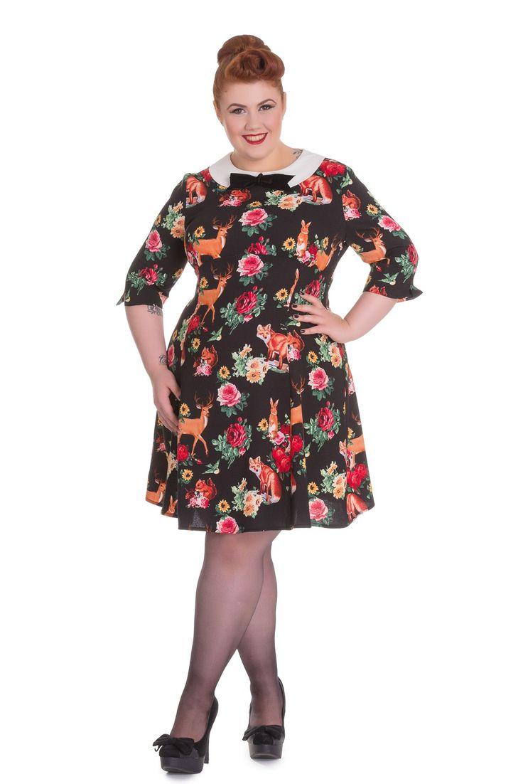 20 besten Plus size Vintage Retro style Party Dress Bilder auf ...