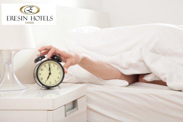 Eğer belli bir saatte uyanmak istiyorsanız ve uykunuz derinse biz sizi uyandırırız:)  If you want to wake up in a certain hour and you have a deep sleep,we will wake your up:)