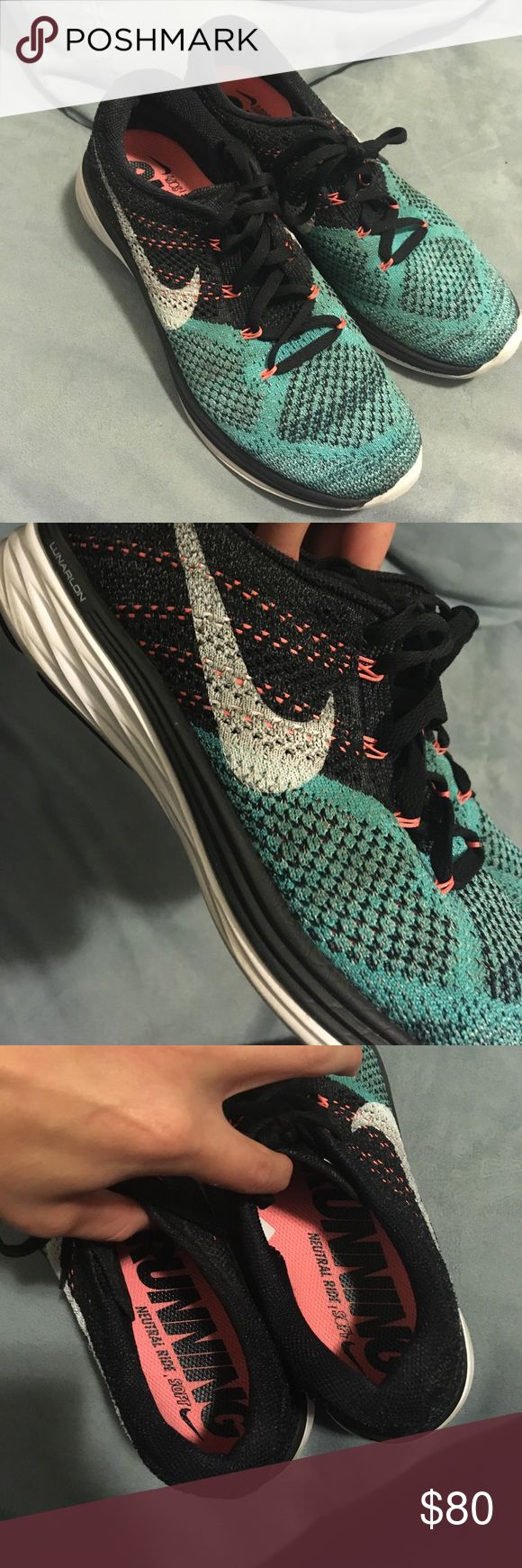 Nike Flyknit Lunar 3 Nike flyknit lunar 3 - woman's - worn once NEW condition. Womens size 8.5. Nike Shoes Sneakers