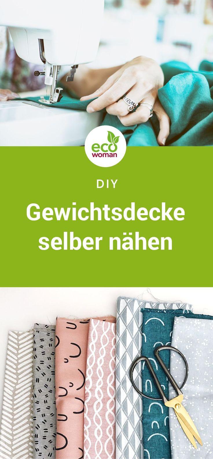 Gewichtsdecke DIY: der ultimative Einschlaftipp!