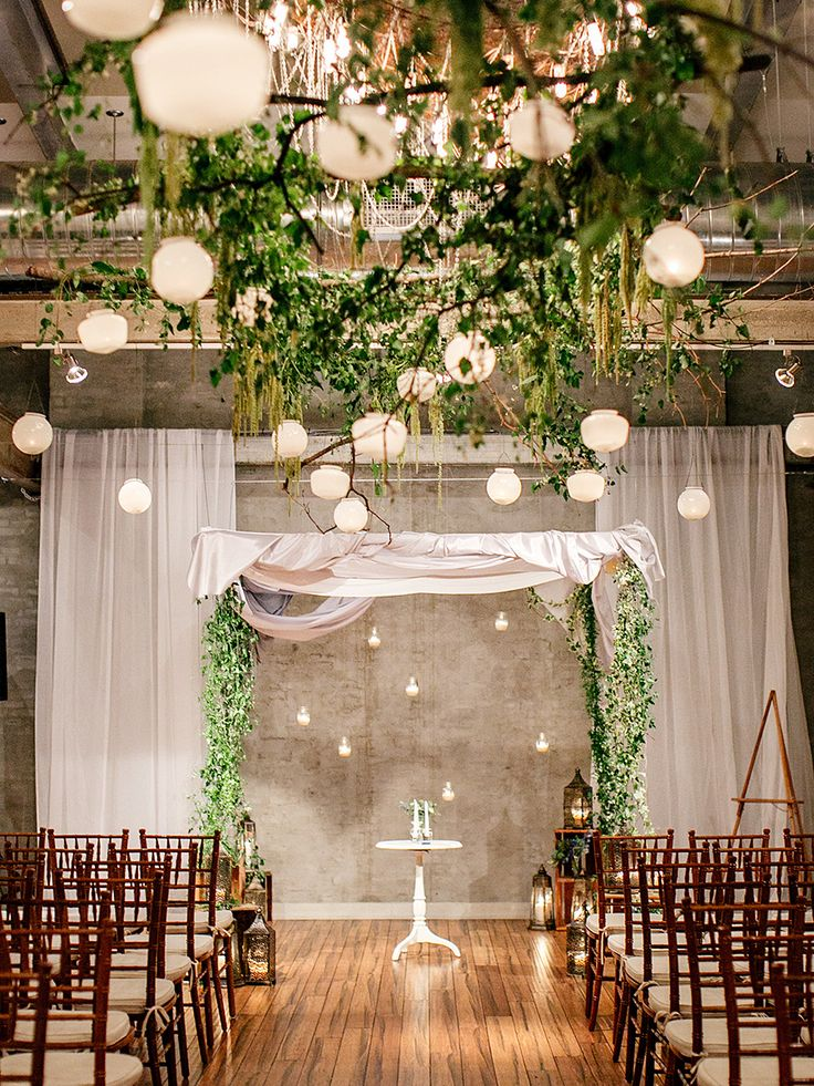 Indoor wedding decorations pictures to pin on pinterest for Wedding ornaments