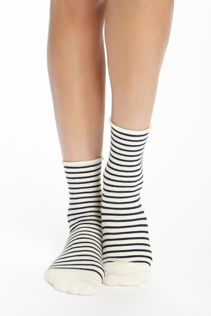 Candy-Striped Socks - Anthropologie.com