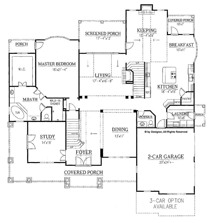 Hoke House Plans House And Home Design
