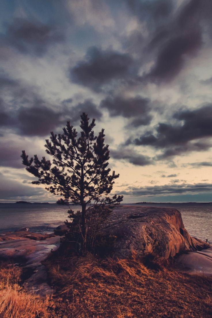 Harmony part VII - Sunset in Hanko, Finland.