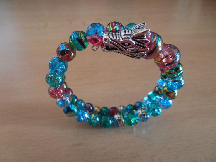 Dragon bracelet - Memory wire