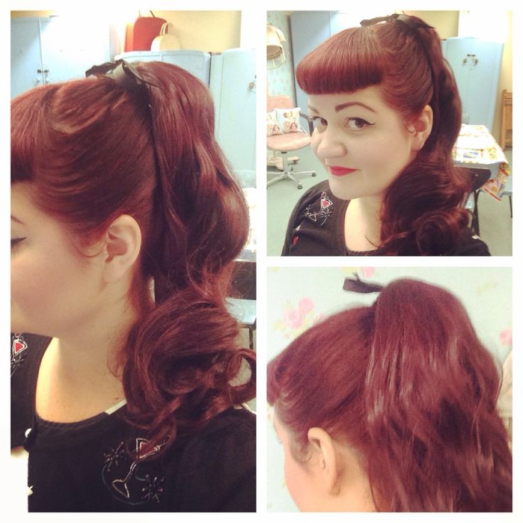The 25 best grease hairstyles ideas on pinterest 50s hairstyles bettie bangs and faux fifties pony tail grease sandy hair vintage hair and make up urmus Gallery