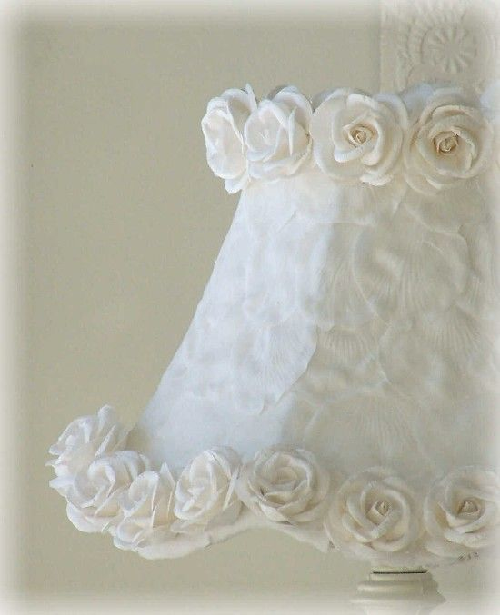 Cottage style lampshade