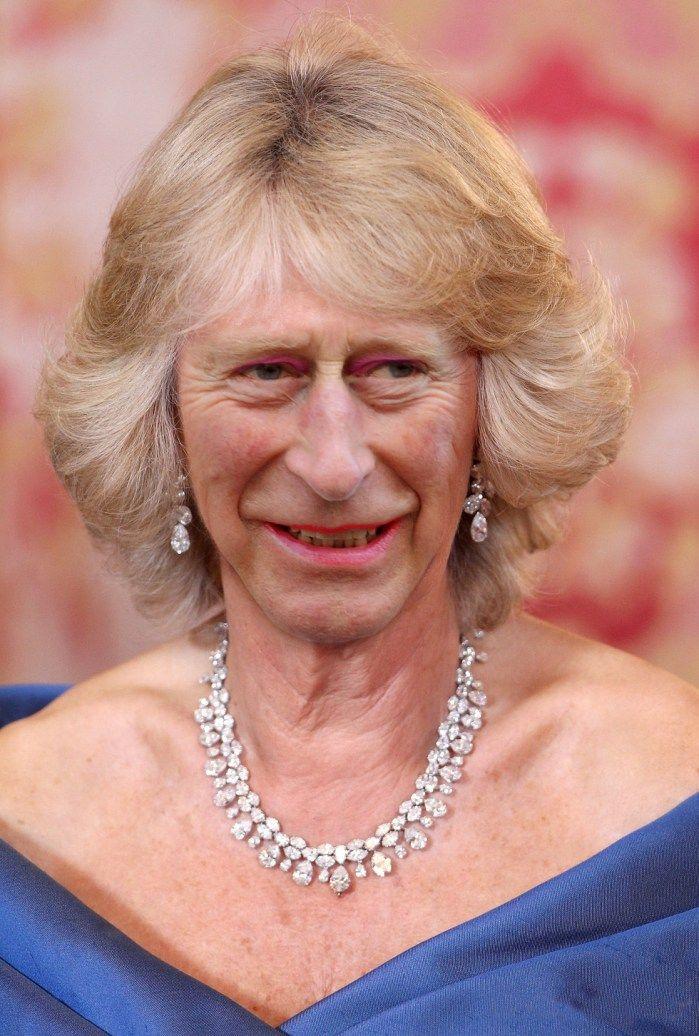 Celebrity Gender Swap Photos: Prince Camilla