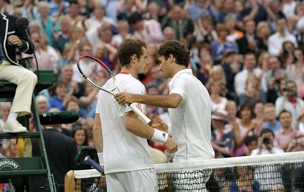 Federer vs Murray Head to Head