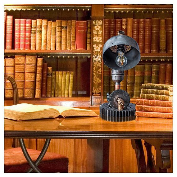 Steampunk table light Koncept lighting Night table lamps