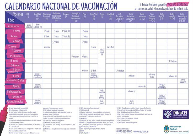 Versión JPG - Calendario de Vacunación 2015