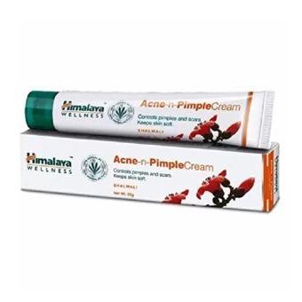 รีบเป็นเจ้าของ  Himalaya Herbals Acne-n-Pimple Cream, 20g. ครีมแต้มสิว สิวอักเสบสิวผด  ราคาเพียง  296 บาท  เท่านั้น คุณสมบัติ มีดังนี้ ยาเเต้มสิวผดผื่นแดงเม็ดเล็กและรอยแดงสิว ช่วยรักษารอยแดงของสิว รอยบวมนูนแดงของสิวผดผื่นแดงเม็ดเล็ก ที่เพิ่งเริ่มเป็นหรือเป็นเรื้อรังมากนานสามารถแต้มบริเวณสิว&