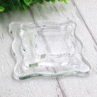 Mescolare 3 formato differente trasparente gel di silice timbro acrilico blocco pad fai da te scrapbooking Processo di colore Strumenti Essenziali