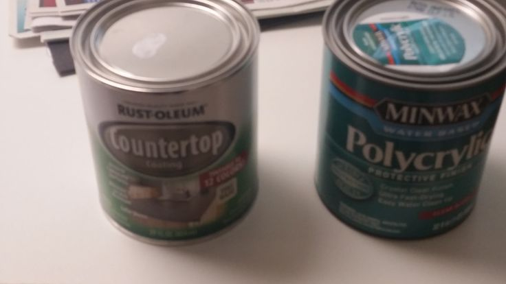 Rustoleum Countertop Paint Durability : are the countertop project materials... Rustoleum countertop paint ...