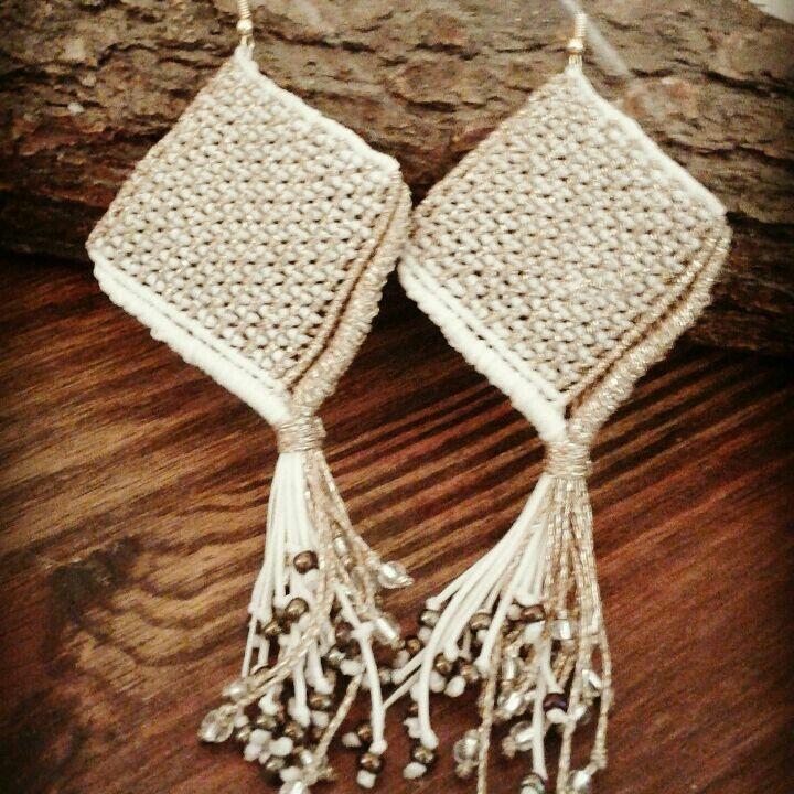 #macrame #macrameearrings #micromacrame #earrings #handmade #handmadejewel #accessories #jewels #inspiration #inlove #instyle #macrameart #heartmade #macramewithbeads