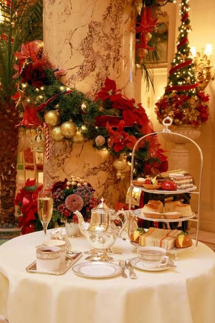 Christmas Afternoon Tea: a festive way to get in the holiday spirit and stay warm this holiday season.