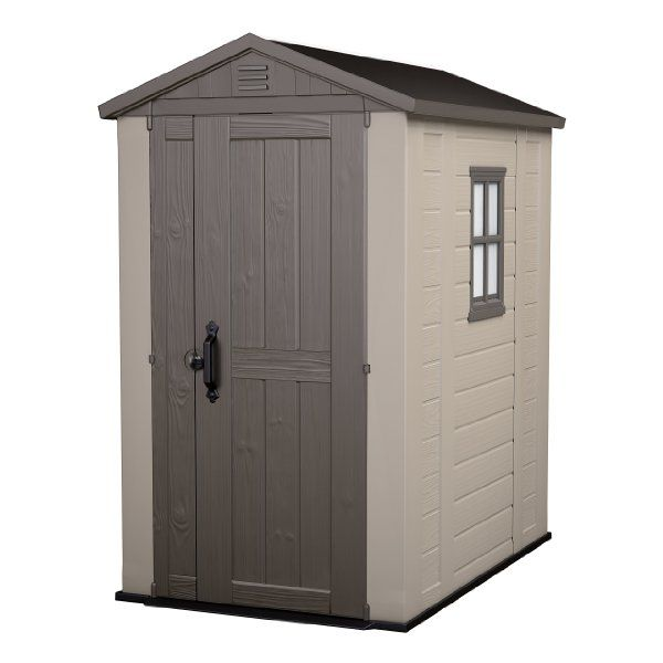 Was £329.99 > Now £255.00.  Save 23% off Keter 6 x 4 Factor Shed #1StarDeal, #GardenOutdoors, #GardenStorageHousing, #Sheds, #Under500