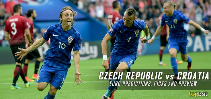 Predictions, picks and preview for the Czech Republic vs. Croatia 2016 Euro Cup Group D match on June 17, courtesy of TopBet online sportsbook.