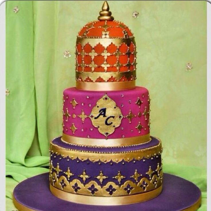 1000 Images About Wedding Cakes IndianBollywood On