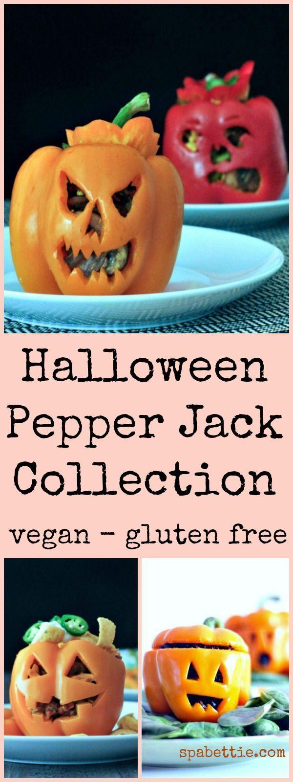Halloween Pepper Jack Collection @spabettie #vegan #glutenfree