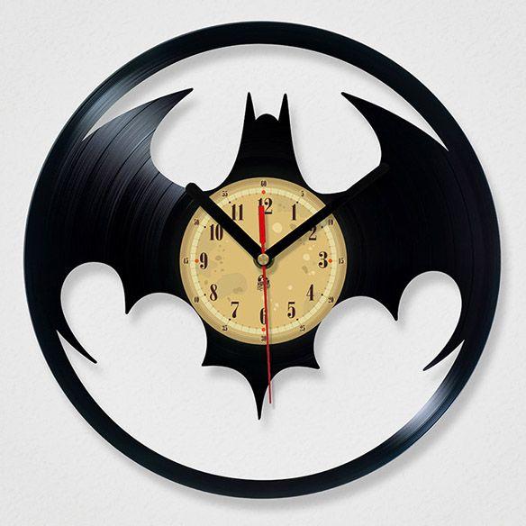 Reloj vinilo de Batman