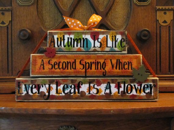 Fall and Thanksgiving Decor Sign  Autumn by PunkinSeedProduction, $22.00