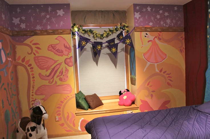 17 Best Images About Flo Tangled Room On Pinterest