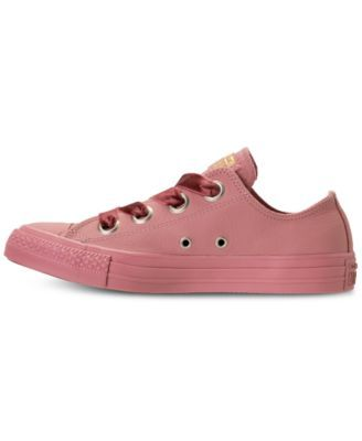 1493d433a74c Converse Women s Chuck Taylor Big Eyelets Ox Casual Sneakers from Finish  Line - Pink 10