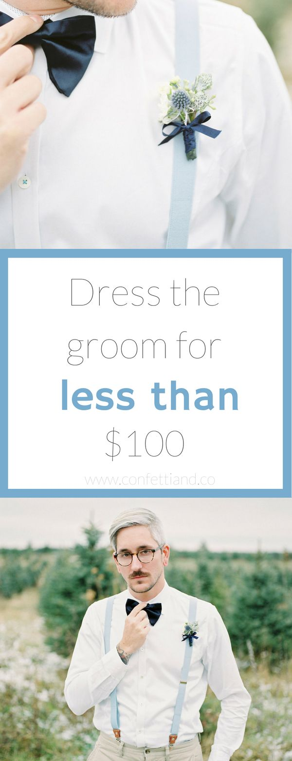 On a budget? You can suit up for less than $100. Whether you are the groom or just looking for formalwear this post can save you hundreds of dollars!