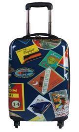 Atlantic Globe Trotter 20 Inch Hardside Spinner  - Hard Sided Travel Bags