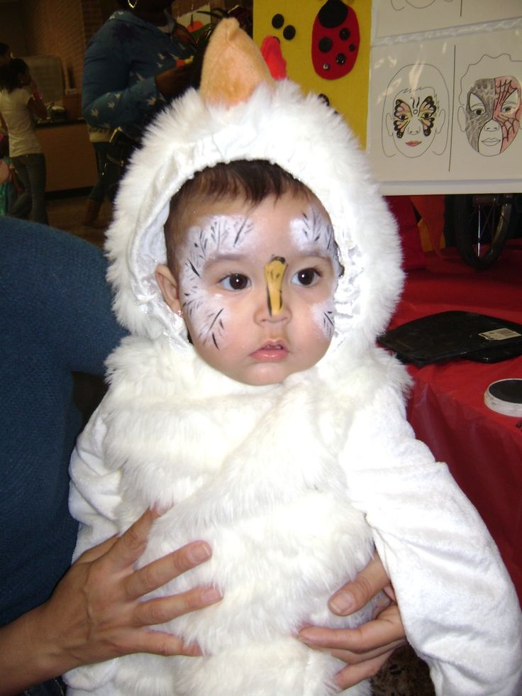 Image result for chicken face paint