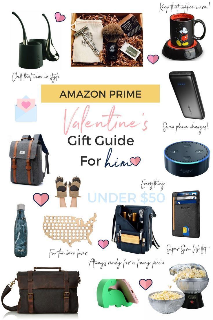 98badaa3b8 AMAZON PRIME VALENTINES DAY GIFTS FOR HIM! || Everything under $50 || Lace  and Sparkles