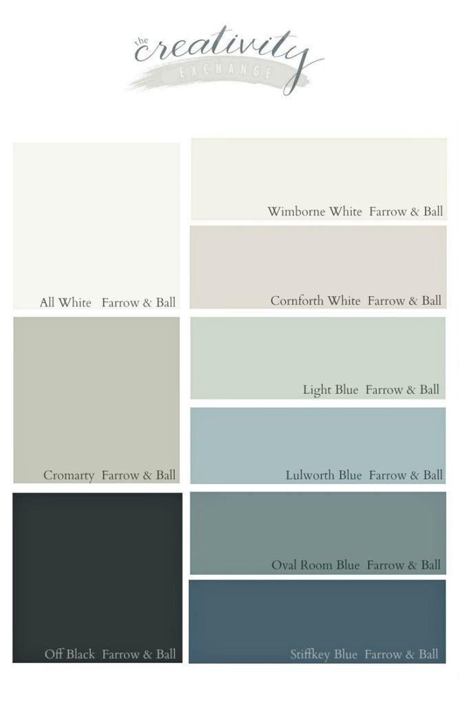 Farrow And Ball Kleurenwaaier.Favorite Farrow And Ball Paint Colors Farrow Ball Paint