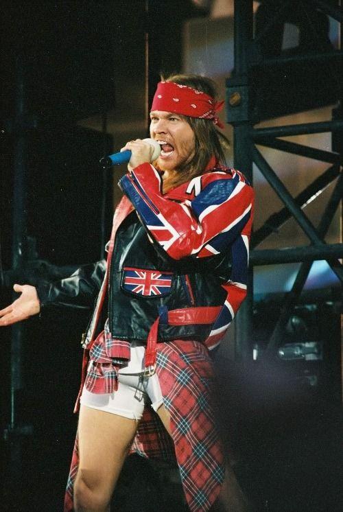 Axl Rose, Freddie Mercury Tribute Concert, Wembley Stadium, London, Uk, April 20, 1992