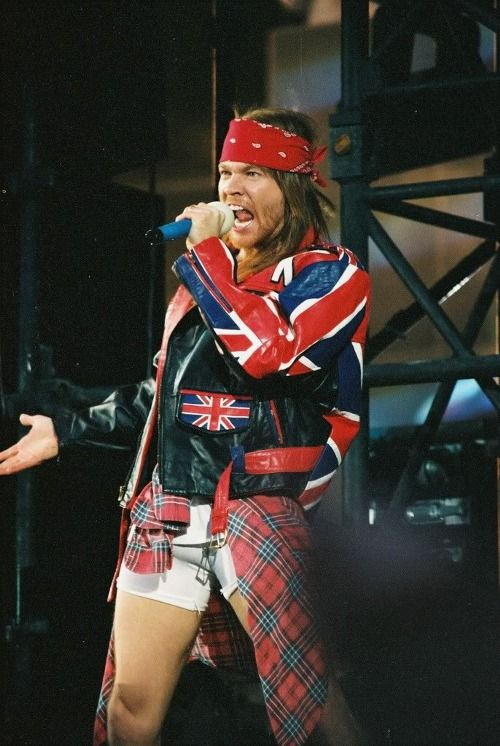 Axl Rose, Freddie Mercury Tribute Concert, Wembley Stadium, London, Uk, April 20, 1992
