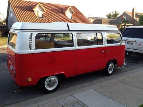 1971 Volkswagen Bus Westfalia VW Camper Westy Restored Mint Beautiful Premium, US $16,900.00, image 1