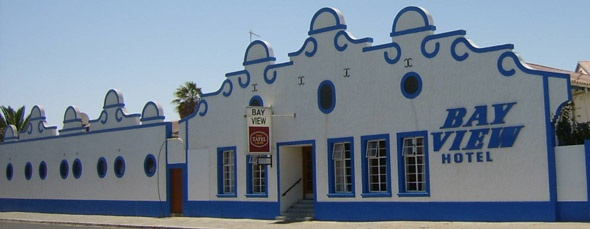 The Bay View hotel, Luderitz, Namibia.